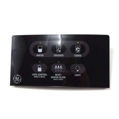 GE Refrigerator Dispenser Control Panel For GSH22KGMBBB